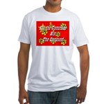 Kill the Commies Not the Cani Fitted T-Shirt