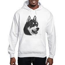 Siberian Husky Hoodie Sweatshirt