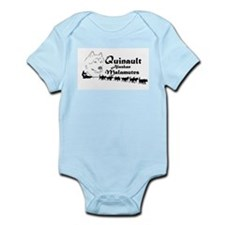 Quinault Team Logo Infant Bodysuit