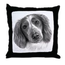 Welsh Springer Spaniel Throw Pillow