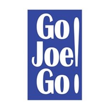 Go Joe Go! Lieberman Rectangular Decal