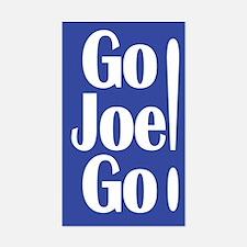 Go Joe Go! Lieberman Rectangular Decal