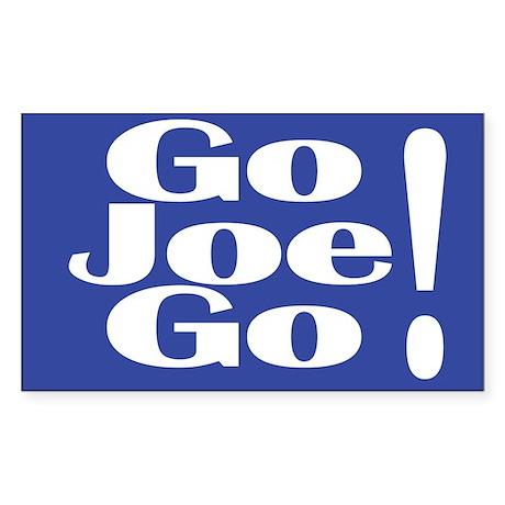 Go Joe Go! Lieberman Rectangular Sticker