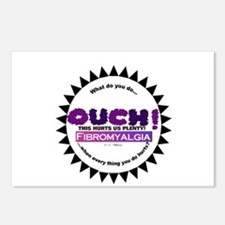 Fibromyalgia Hurts Postcards (Package of 8)