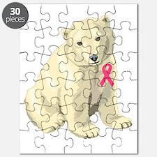 Breast Cancer Awarness Polar Bear Puzzle