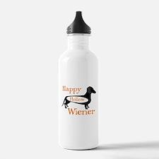Happy Hollow Wiener Water Bottle