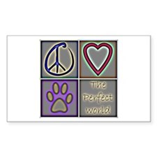 """Classic Peace Symbol 2.25"""" Button (100 pack)"""
