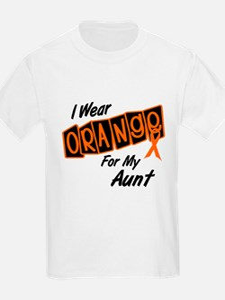 I Wear Orange For My Aunt 8 T-Shirt