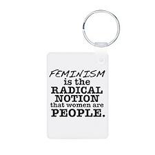 Feminism Radical Notion Keychains