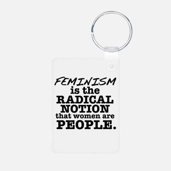 Feminism Radical Notion Keychains