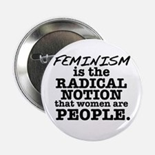 """Feminism Radical Notion 2.25"""" Button (10 pack"""