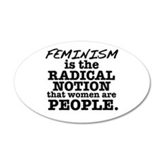 Feminism Radical Notion Wall Decal