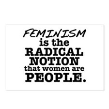 Feminism Radical Notion Postcards (Package of 8)