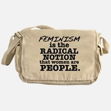 Feminism Radical Notion Messenger Bag