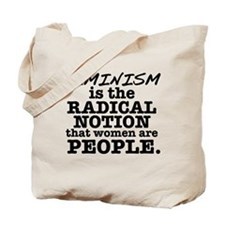 Feminism Radical Notion Tote Bag
