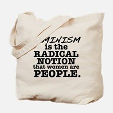 Feminism Radical Notion Tote Bag