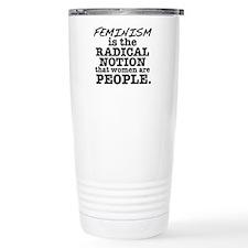 Feminism Radical Notion Travel Mug