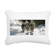 Team Quinault Rectangular Canvas Pillow