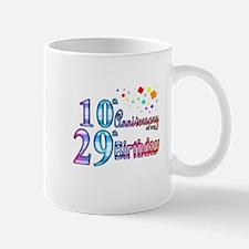 Anniversary of my Birthday Mug
