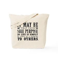Sole Purpose Tote Bag