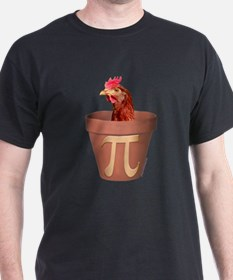chicken pot pi blk T-Shirt