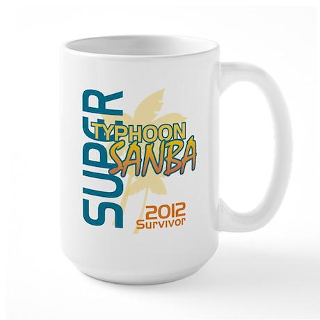 Typhoon Sanba Survivor Large Mug