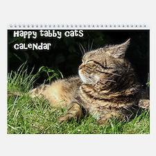 Tabby Cats Calendar