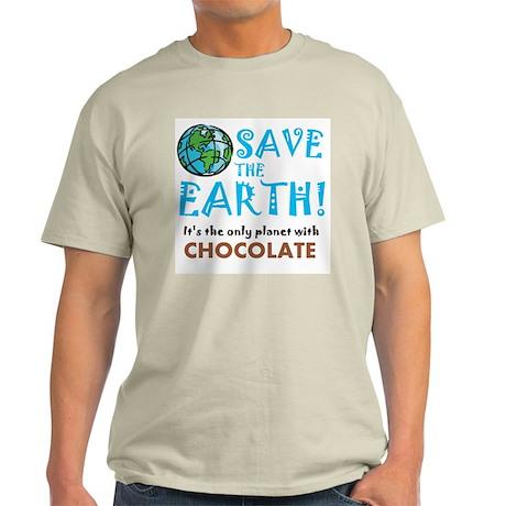 Save the Earth... chocolate T-Shirt