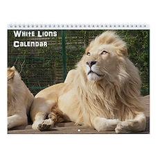 White Lions Calendar
