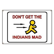 MAD INDIANS Banner