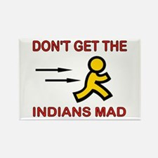 MAD INDIANS Rectangle Magnet