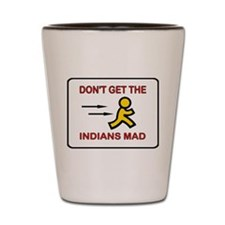 MAD INDIANS Shot Glass