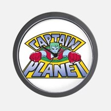 captain planet Wall Clock