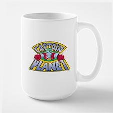 captain planet Large Mug