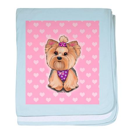 Fofa hearts baby blanket