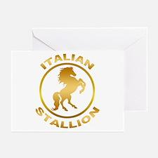 Italian Stallion Greeting Cards (Pk of 10)