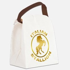 Italian Stallion Canvas Lunch Bag