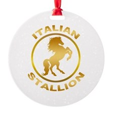 Italian Stallion Ornament