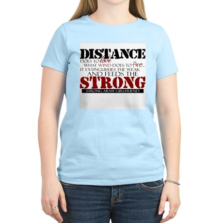 Feeds the strong: Army Girlfr T-Shirt