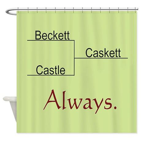 Beckett Castle Caskett Always Shower Curtain