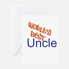Worlds Best Uncle Greeting Card