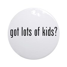 got lots of kids? Ornament (Round)
