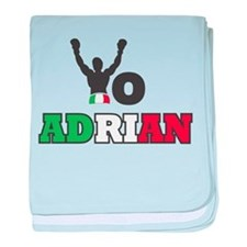 Yo Adrian baby blanket