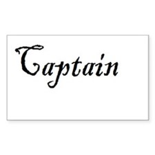 Captain (Pirate) Decal