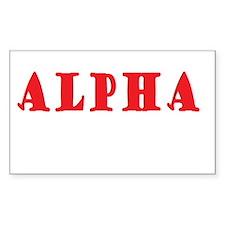 Alpha Decal