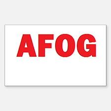 AFOG Sticker (Rectangle)