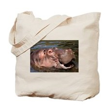 Happy Hippo Tote Bag