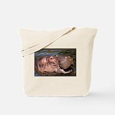 Happy Hippo Tote Bag