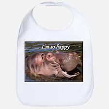 I'm so happy: hippo Bib