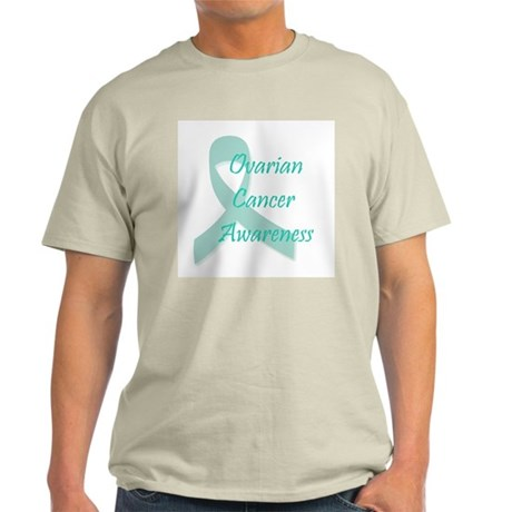 Ovarian Cancer Awareness Ash Grey T-Shirt